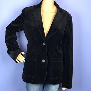 Black Velvet Blazer by Gap size 8